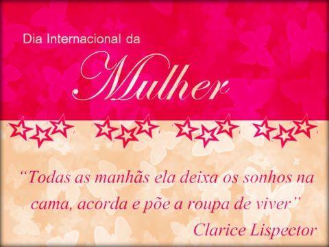Cartões Frases E Mensagens Para Dia Das Mulheres