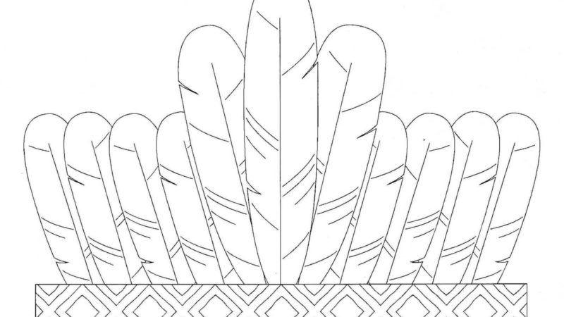 Desenhos para dia do ÍNDIO moldes para pintar ( Atividades )