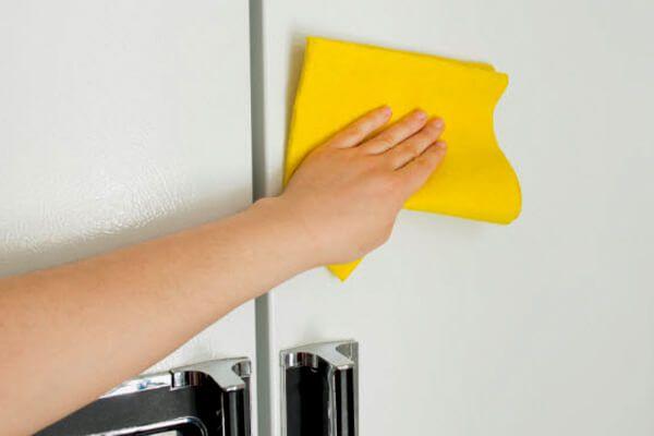 Como tirar amarelado da Geladeira microondas e eletrodomésticos