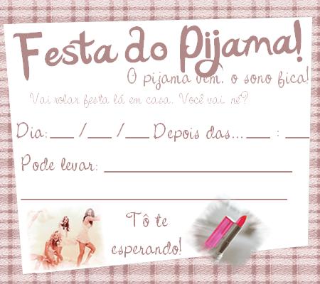 5b4ea51cab Ideias para Festa do PIJAMA para meninas