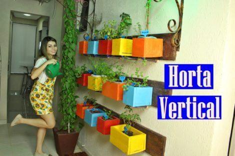 Como fazer Horta Vertical e fixar na parede