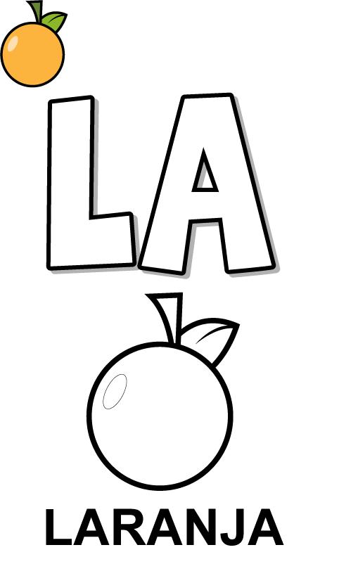 Atividades Silabas Com La Le Li Lo Lu Para Baixar