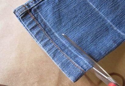 Como Fazer Barra de Calça Jeans, passo a passo