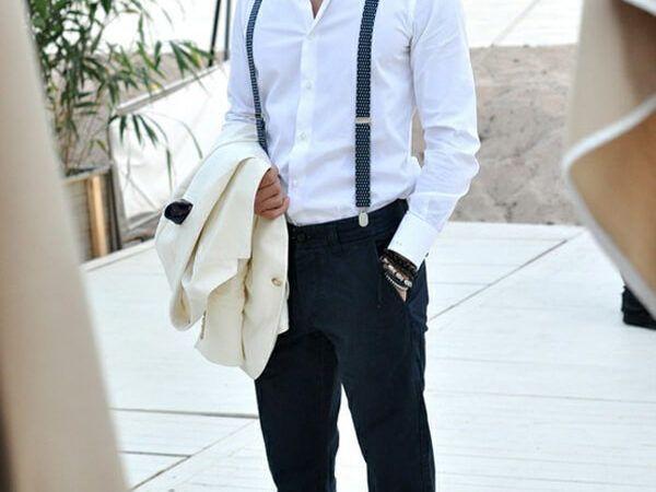 Moda masculina: Como usar Suspensório, Confira